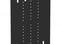 6109861 - OBO BETTERMANN Разделительная перегородка для блока питания VH (черный) (VHF-TW L).