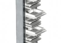 6288030 - OBO BETTERMANN Соединитель профилей вертикальный (100 мм) (PVV N2 100).