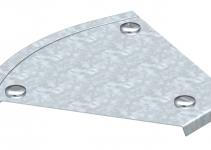 7128827 - OBO BETTERMANN Крышка угловой секции 45° 150мм (DFB 45 150 FS).