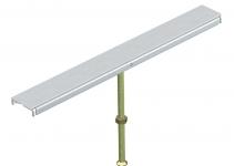 7424980 - OBO BETTERMANN Стыковая опора крышки канала OKA-W 400 мм (сталь) (DSU2 400 10050).