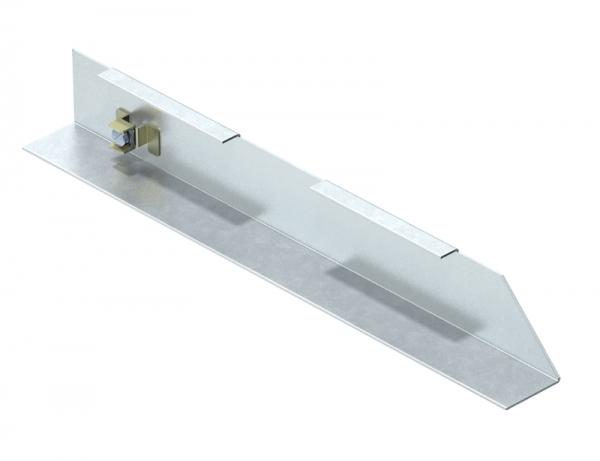 7404790 - OBO BETTERMANN Торцевая заглушка кабельного канала AIK правая (сталь) (AIK ESR 25070).
