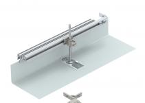 7423974 - OBO BETTERMANN Комплект для ответвления канала OKA-G/W 400 мм направо (сталь,40-150 мм) (OKA-G40040150FBR).