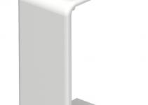 6193501 - OBO BETTERMANN Стыковая накладка кабельного канала WDK 15x30 мм (ПВХ,белый) (WDK HS15030RW).
