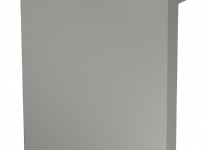 6156223 - OBO BETTERMANN Торцевая заглушка кабельного канала RK 127x175 мм (ПВХ,серый) (RK-E1117GR).