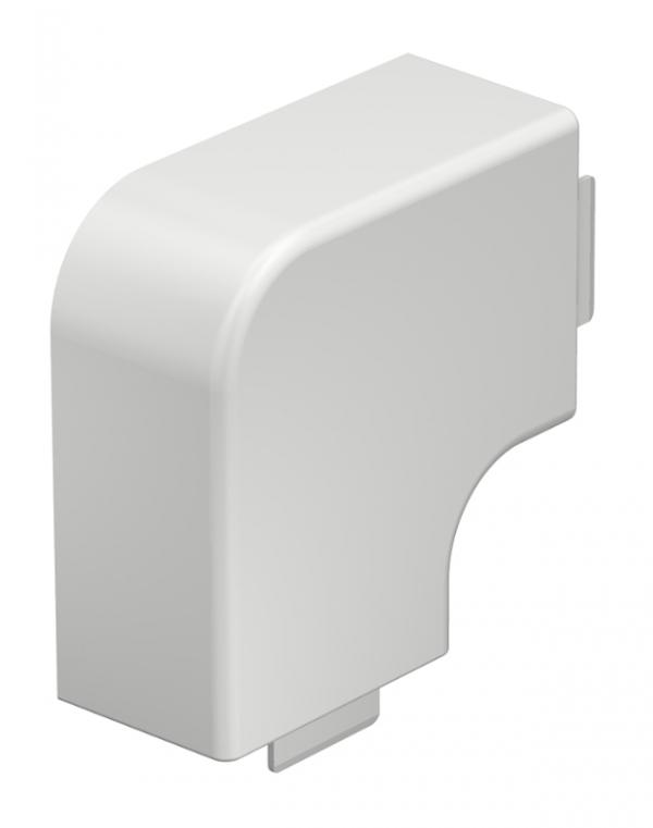 6021735 - OBO BETTERMANN Крышка плоского угла кабельного канала WDK 40x60 мм (ПВХ,серый) (WDK HF40060GR).