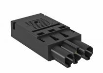 6108050 - OBO BETTERMANN Штекер 3-полюсный Modul45connect (черный) (ST-F GST18i3p SW).