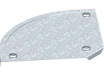 7129610 - OBO BETTERMANN Крышка угловой секции 90° 100мм (DFB 90 100 FS).