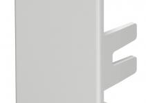 6158803 - OBO BETTERMANN Торцевая заглушка кабельного канала WDK 30x45 мм (ПВХ,серый) (WDK HE30045GR).