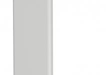 6193528 - OBO BETTERMANN Стыковая накладка кабельного канала WDK 15x40 мм (ПВХ,белый) (WDK HS15040RW).