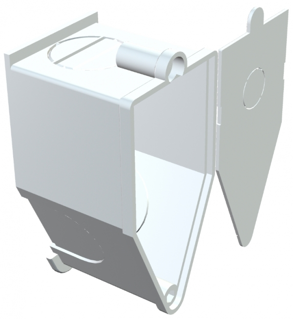 2003082 - OBO BETTERMANN Монтажная коробка, для настен. свет. 60x30x32 (UWA).