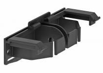 6115975 - OBO BETTERMANN Адаптер для крышки дизайнерского канала (черный) (GAD OTA).