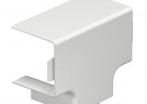 6192548 - OBO BETTERMANN Крышка T-образной секции кабельного канала WDK 40x40 мм (ПВХ,белый) (WDK HT40040RW).