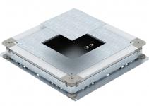 7410104 - OBO BETTERMANN Монтажное основание UZD350-3 (h=70-125 мм) для GES4 510x467x70 мм (сталь) (UGD 350-3 4).
