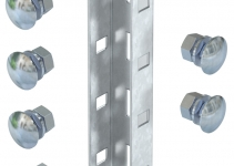 6018513 - OBO BETTERMANN Соединительный элемент для профиля US 3 190x45 (VUS 3 FT).
