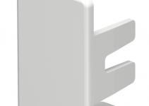 6183654 - OBO BETTERMANN Торцевая заглушка кабельного канала WDK 20x35 мм (ПВХ,светло-серый) (WDK HE20035LGR).