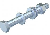 3160742 - OBO BETTERMANN Комплект Болт+Шайба+Гайка M10x30 (SKS 10X30 F).