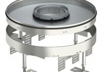 7409472 - OBO BETTERMANN Усиленная кассетная рамка RKFR2 ном.размер 9 SL2 ø 305 мм (сталь) (RKFR2 9 SL2V2 25).
