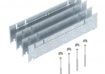7410156 - OBO BETTERMANN Комплект для регулирования высоты монтажного основания UZD350 (сталь,165+55 мм) (ASH350-3 B165220).