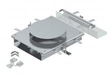7424906 - OBO BETTERMANN Монтажная секция для канала OKA-W 6050 для лючка GES9 (сталь) (OKA-W A 6050R9).