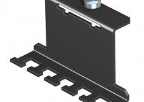 7407844 - OBO BETTERMANN Фиксатор для разгрузки кабеля от натяжения (сталь,черный) (MTU ZE).