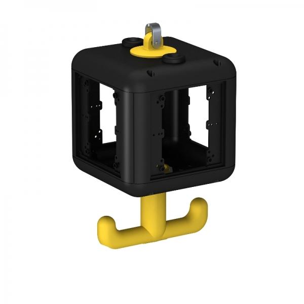 6109800 - OBO BETTERMANN Корпус блока питания VH-4 (пустой) 140x140x252 мм (черный) (VH-4 LG).