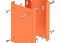 6290423 - OBO BETTERMANN Защитная пластина для электромонтажных колонн ISS 250x166x33 мм (сталь) (ISS160160AS HRO).