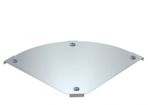7138548 - OBO BETTERMANN Крышка угловой секции 90° 400мм (DFBM 90 400 DD).