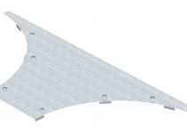 6231908 - OBO BETTERMANN Крышка T-образного / крестового соединения 400мм (WAAD 400 FS).