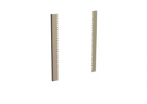 DP-LV-N-09 - L- типа направляющие для настенного шкафа 9U, 1 пара
