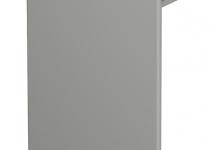 6024904 - OBO BETTERMANN Торцевая заглушка кабельного канала WDK 100x230 мм (ПВХ,серый) (WDK HE100230GR).