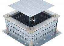 7410052 - OBO BETTERMANN Монтажное основание UZD250-3 (h=165-220 мм) 410x367x165 мм (сталь) (UZD 165220 250-3).