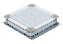 7410030 - OBO BETTERMANN Монтажное основание UZD250-3 (h=70-125 мм) 410x367x70 мм (сталь) (UZD 250-3).
