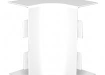 6160379 - OBO BETTERMANN Крышка внутреннего угла кабельного канала WDK 60x150 мм (ПВХ,кремовый) (WDK HI60150CW).