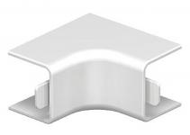 6191878 - OBO BETTERMANN Крышка внутреннего угла кабельного канала WDK 20x20 мм (ПВХ,белый) (WDK HI20020RW).
