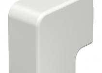 6161286 - OBO BETTERMANN Крышка плоского угла кабельного канала WDK 30x45 мм (ПВХ,кремовый) (WDK HF30045CW).