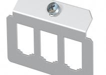 7407824 - OBO BETTERMANN Суппорт для установки модулей в монтажную рамку MTU тип B (сталь) (MTM 3B).