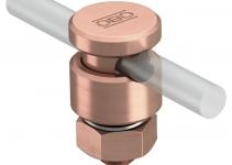 5304172 - OBO BETTERMANN Клемма крепежная для проволоки  * (5001 N-CU).