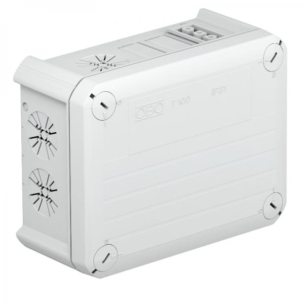2007815 - OBO BETTERMANN Распределительная коробка 150x116x67 (T 100 WB 1W3 1S3).