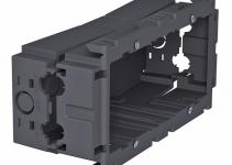 6288611 - OBO BETTERMANN Монтажная коробка 71GD7 (полиамид,серый) (71GD7).