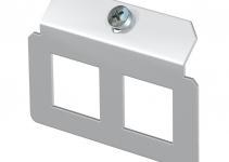 7407817 - OBO BETTERMANN Суппорт для установки модулей в монтажную рамку MTU тип P (сталь) (MTM 2P).
