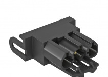 6117192 - OBO BETTERMANN Штекерный адаптер прямой (черный) (STA-SKS S1 SW).