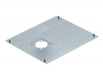 7425046 - OBO BETTERMANN Крышка канала OKA с монтажным отверстием Telitank 400x500x4 мм (сталь) (OKA D 500 DAT).
