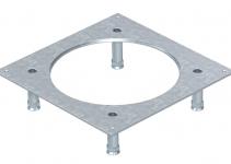 7400475 - OBO BETTERMANN Крышка усиленная монтажного основания UZD250-3R4 (h=70-105 мм,сталь) (DUG 250-3R4SL70).