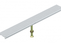 7424942 - OBO BETTERMANN Стыковая опора крышки канала OKA-W 500 мм (сталь) (DSU2 500 4030).