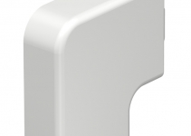6192769 - OBO BETTERMANN Крышка плоского угла кабельного канала WDK 15x40 мм (ПВХ,белый) (WDK HF15040RW).