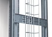 HVMS-B-1000-140/60 - Проволочный кабельный лоток для напольных шкаф Contegов 24 и 27U, H=1000мм