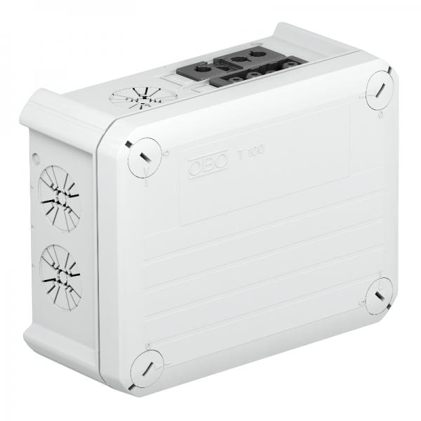 2007874 - OBO BETTERMANN Распределительная коробка 151x117x67 (T100 WS 1S4 2S3C).