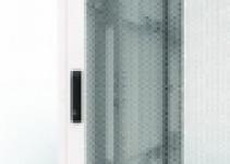 RI7-DO-42/60-PV - Дверь с перфорацией для шкафа - Ri7/RM7, высотой 42U, шириной 600мм