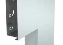 6249515 - OBO BETTERMANN Плоский угол с крышкой кабельного канала LKM 60x150 мм (сталь,белый) (LKM F60150RW).