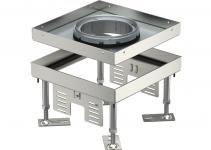 7409362 - OBO BETTERMANN Кассетная рамка RKFN2 ном.размер 4 200x200 мм (сталь) (RKFN2 4 VS 20).
